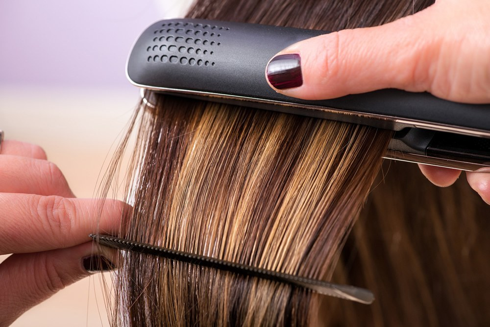 How To Straighten Natural Hair With A Flat Iron
